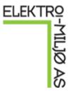 Elektro-Miljø AS logo