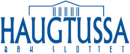 Haugtussa bak slottet logo