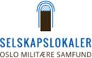 Selskapslokaler Oslo Militære Samfund logo