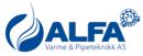 Alfa Varme og Pipeteknikk AS logo