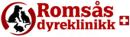 Romsås Dyreklinikk Veterinær Monica Hansen logo