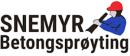 Snemyr Betongsprøyting AS logo