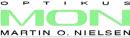 Optikus Martin O Nielsen (MON) logo