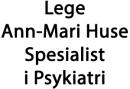Lege Ann-Mari Huse Spesialist i Psykiatri logo