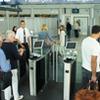 Säkerhetsgrindar för flygplats