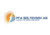 Pfa Solteknik AB logo