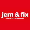 jem & fix Ludvika logo