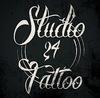 Studio 24 Sisu Tattoo logo