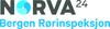 Norva24 Bergen Rørinspeksjon logo