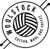 Woolstock - cotton, wool and coffee logo