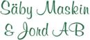 Säby Maskin & Jord AB logo