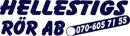 Hellestigs Rör, AB logo