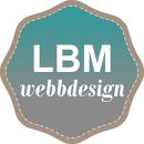 LBM Webbdesign logo