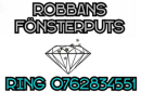 Robbans Fönsterputs logo