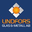 Lindfors Glas & Metall AB logo