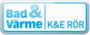 K & E Rör AB logo