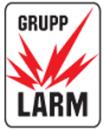 Grupplarm AB logo