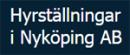 Hyrställningar i Nyköping AB logo