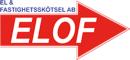 El o. Fastighetsskötsel/ELOF logo