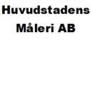 Huvudstadens Måleri AB logo
