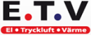 ETV Elteknik AB logo