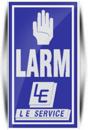LE Service Larm AB logo
