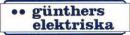 Günthers Elektriska HB logo