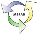 MERAB Löberöds Återvinningscentral logo