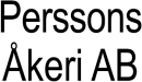 Perssons Åkeri I Svenljunga AB logo