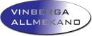Vinberga Allmekano logo