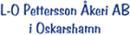 Oskarshamns Logistik AB - L O, Petterssons Åkeri logo