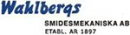 Wahlbergs Smidesmekaniska AB logo