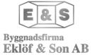 Byggnadsfirma Eklöf & Son AB logo