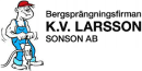 Bergsprängningsfirman K V Larsson Sonson logo