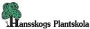 Hansskogs Plantskola logo