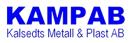 Kampab, Kalsedts Metall & Plast AB logo