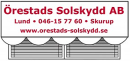 Örestads Solskydd AB logo
