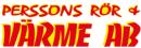 Perssons Rör & Värme AB logo