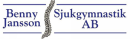 Benny Jansson Sjukgymnastik logo