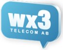 Wx3 Telecom AB logo