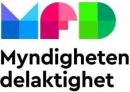 Myndigheten för delaktighet logo