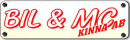 Bil & MC Kinna AB logo