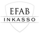 Inkassobolagen AB, E F A B logo