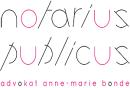 Notarius publicus - Advokat Anne-Marie Bonde logo