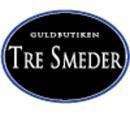 Guldbutiken Tre Smeder logo