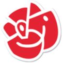 Socialdemokraterna i Ängelholm logo