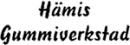 Hämis Gummiverkstad logo