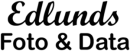 Edlunds Foto & Data logo