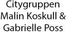 Citygruppen Malin Koskull & Gabrielle Posse logo