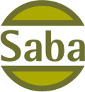 Saba Blommor logo